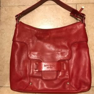 BRAND NEW Kate Spade Red Leather Purse